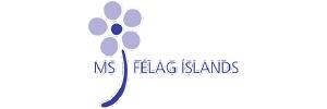 MS Society Iceland logo