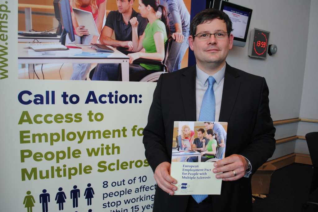 MEP Adam Kosa is supporting EMSP's Employment Pact