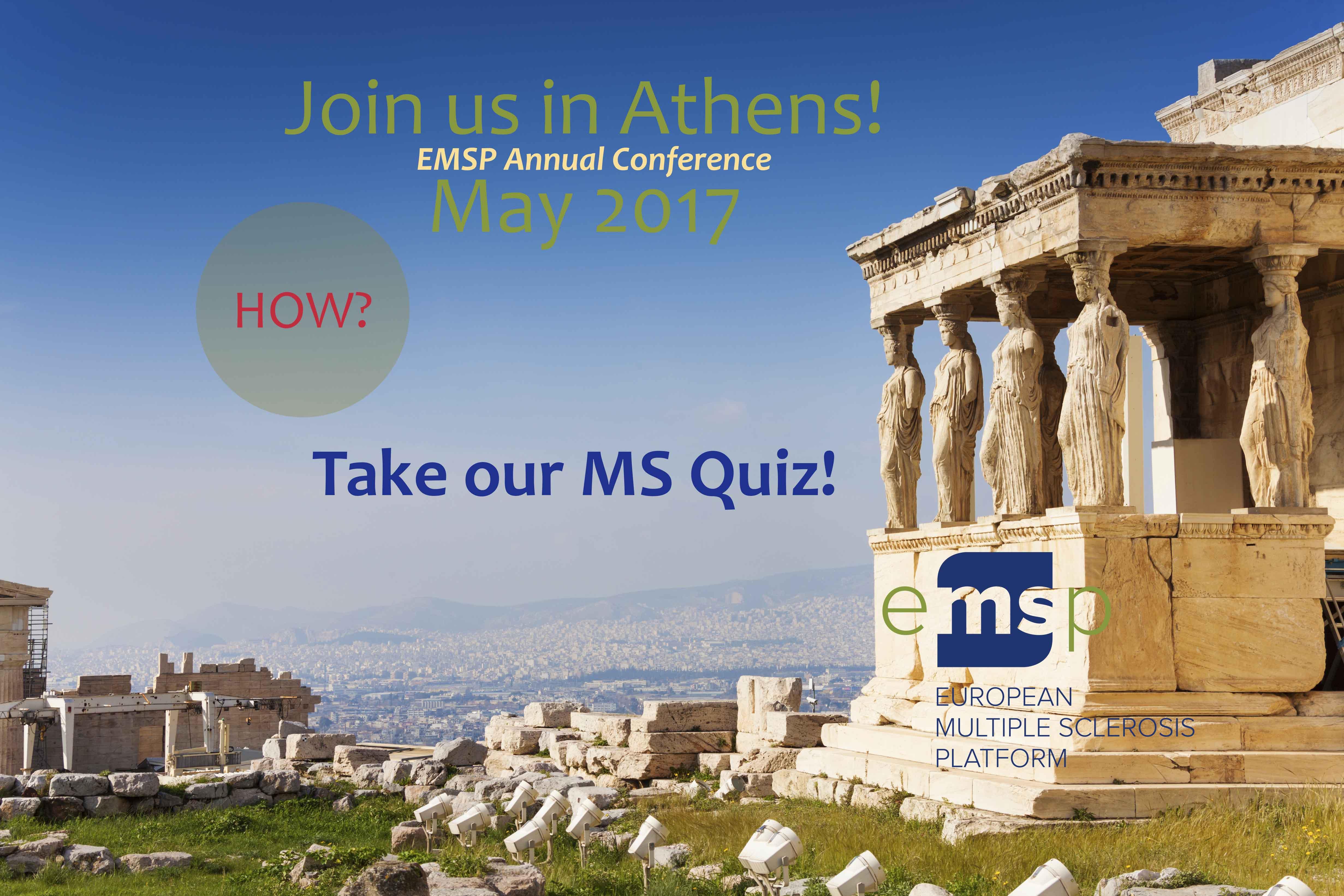 EMSP at ECTRIMS 2016: Delivering for MS communities