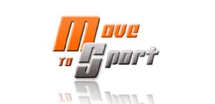 Move to Sport orange and grey logo