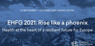 European Health Forum Gastein event banner 2021
